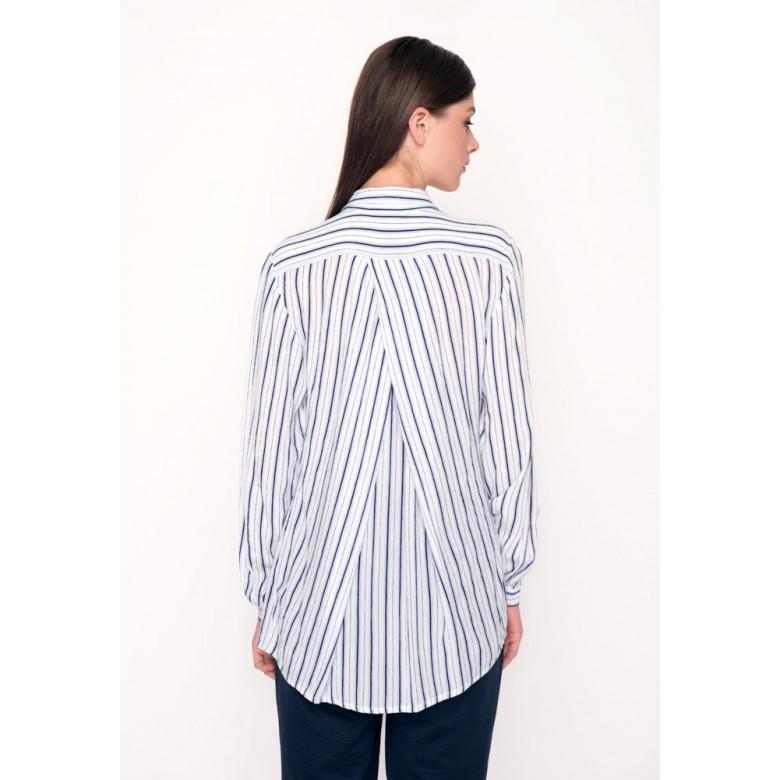 Блуза зі складкою по спині р.42 (віскоза) мод.29722
