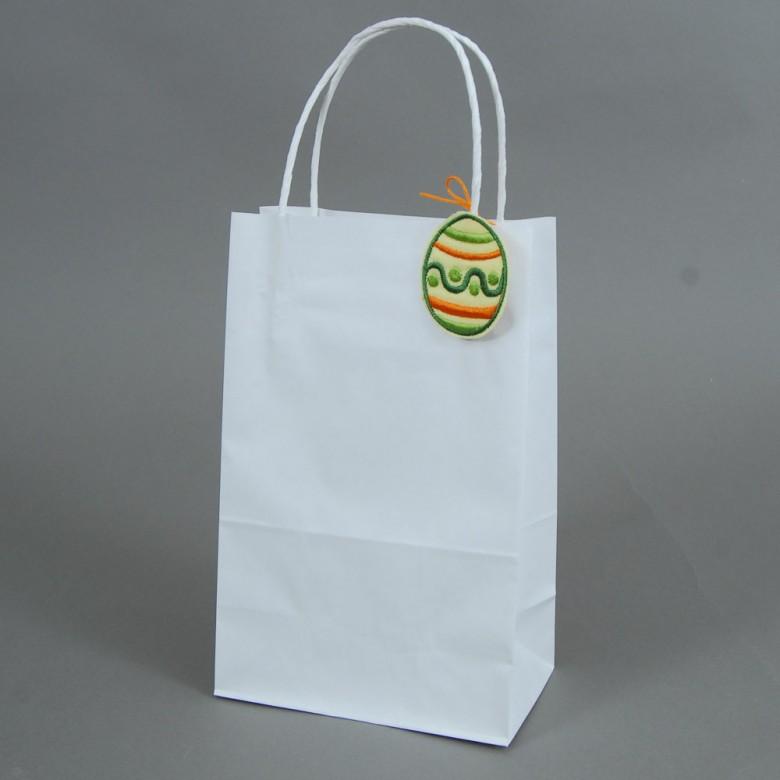 Крафт-пакет 240*150*75мм - ПИСАНКА зелена