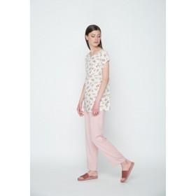 """Блуза вільна р.40 (віскоза""""барбарис"""") мод.29554"""