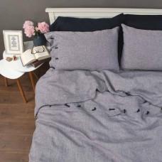 Комплект постільної білизни МЕЛАНЖ 2-спальний ЄВРО