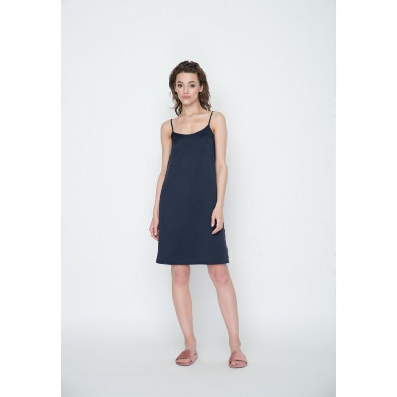 Плаття-комбінація р.42 (купра синя) мод.29701