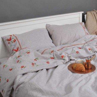 Комплект постільної білизни ДЕРЕВО ЖИТТЯ 2-спальний ЄВРО