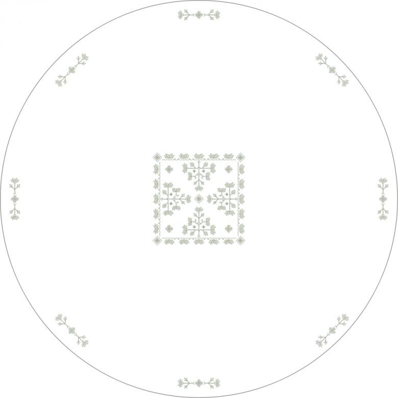 Набір ДІБРОВА скатертина d-214 та 4 серветки