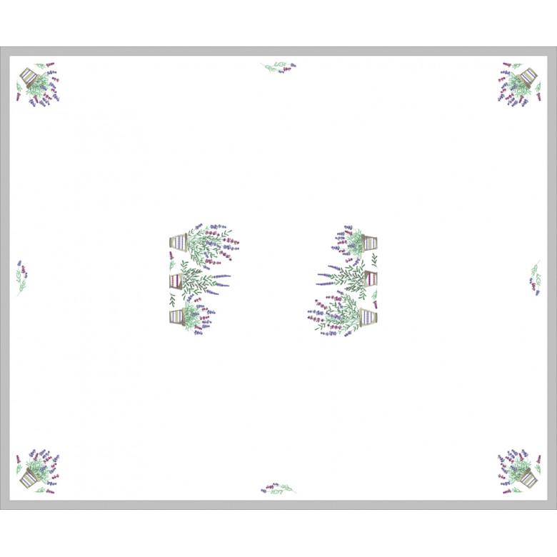 Скатертина з серветками на 4 персони (колекція ЛАВАНДА)