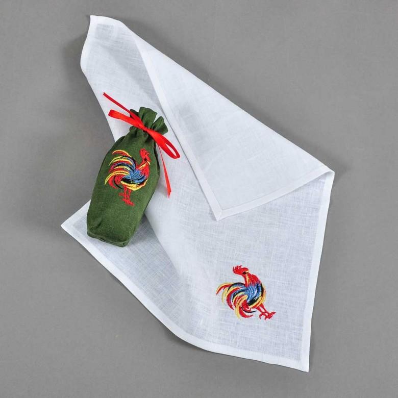 Набір: полотенце у торбинці  ПІВЕНЬ 40*34