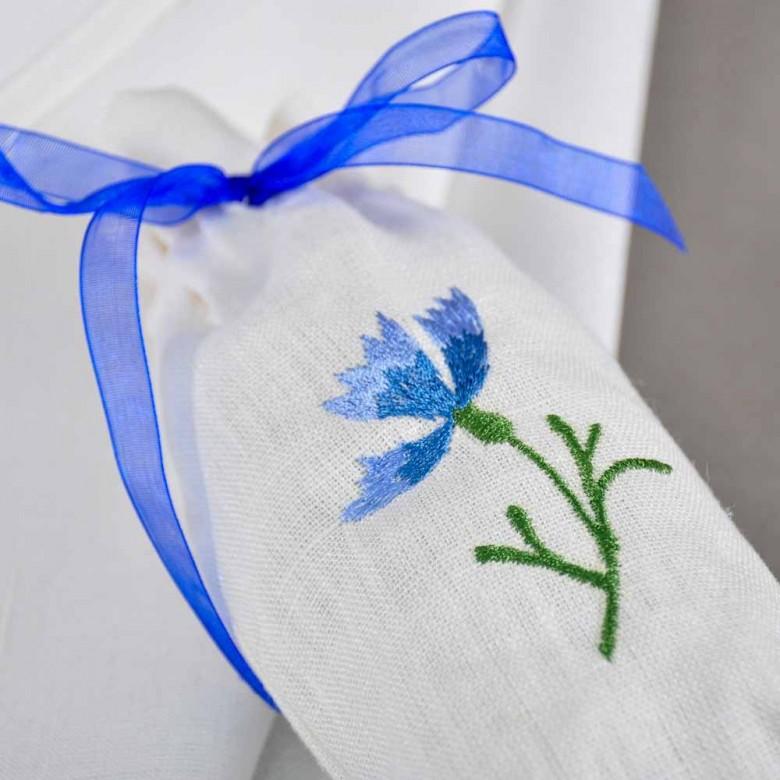 Набір: полотенце у торбинці  ВОЛОШКА 65*45