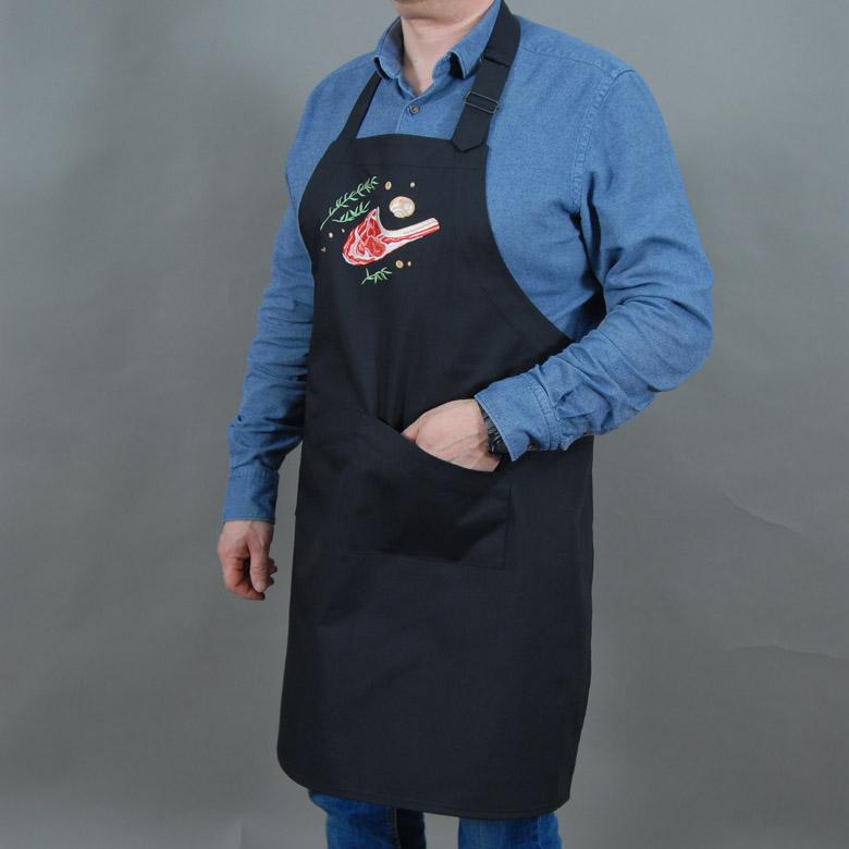 Чоловічий фартух для барбекю КАРЕ