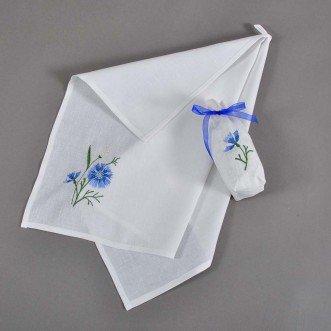 Набор: полотенце в мешочке ВАСИЛЕК 65*45