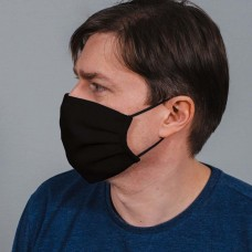Захисна маска з тканини чорна арт. 015