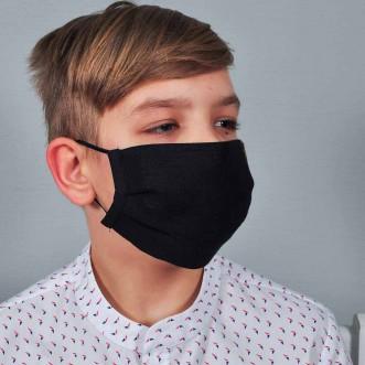 Захисна маска для підлітків  Black