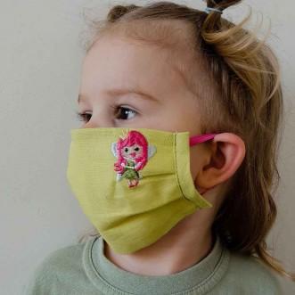 Захисна маска для дівчинки ФЕЯ