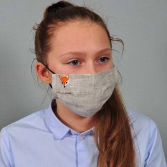 Захисна маска для підлітків Лисеня
