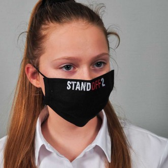Захисна маска з тканини для підлітків STANDOFF