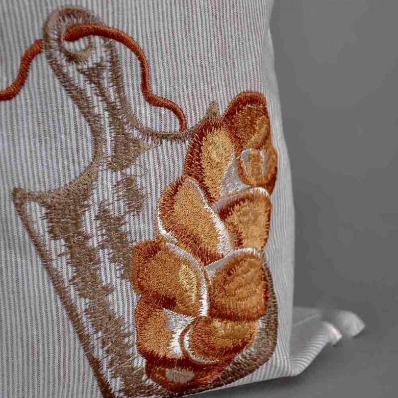 Торбинка для хліба ПЛЕТІНКА 51*22 см смужки