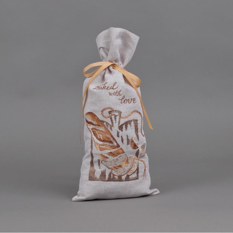 Торбинка для хліба БАТОН НАРІЗНИЙ 51*22 см