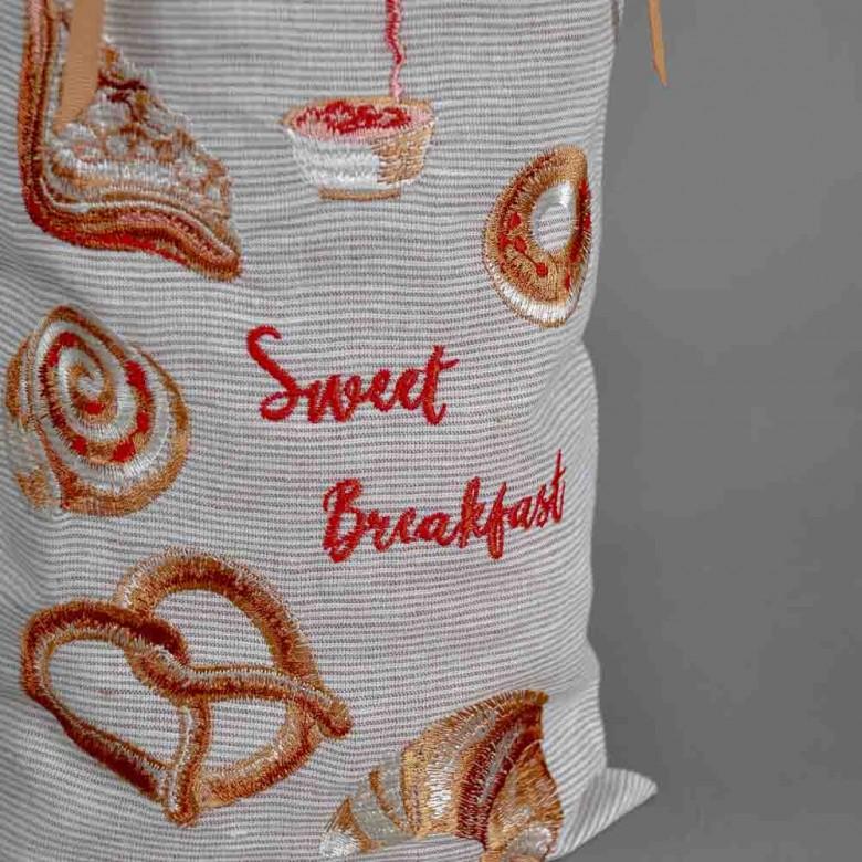 Торбинка для хліба SWEET BREAKFAST 51*22 см