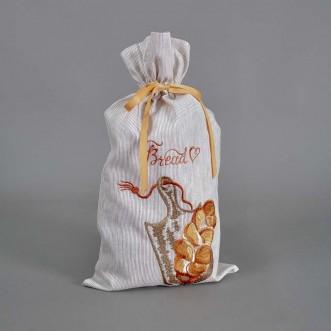 Мешочек для хлеба ПЛЕТЕНКА 51*22 см полоски